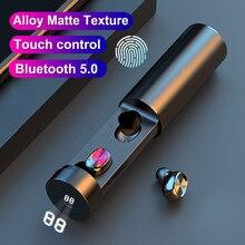 Écouteurs Bluetooth 5.0 sans fil B9 TWS, casque d'écoute, oreillettes de sport, HIFI, avec microphone, musique, jeu, pour Xiaomi, Samsung, Huawei