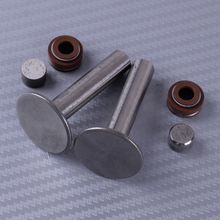 LETAOSK High Quality 2 Set Valve Lifter Stem Seal Protection Cap Kit Fit for Honda GX390 13HP Engine