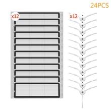 24PCS roboter staubsauger filter pinsel kit zubehör für xiaomi mijia 1 s 2S Smart kehrmaschine werkzeug roborock s50 s6 s51 s55 teile