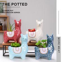 Микро ваза керамические фарфоровые цветочные горшки комнатные