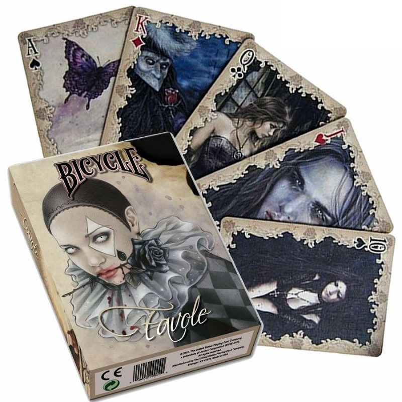 bicycle-favole-playing-cards-vampire-deck-victora-frances-gothic-font-b-poker-b-font-uspcc-limited-edition-magic-card-games-magic-tricks-props