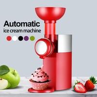 Mini DIY Electric Automatic Fruit Dessert Machine Fruit Ice Cream Machine For Home EU Plug,US Plug,UK Plug,AU Plug