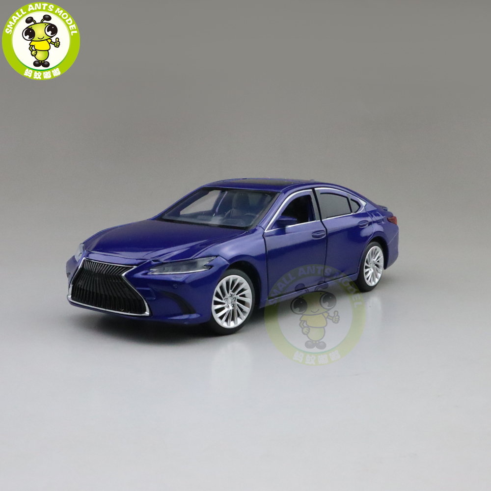 1/32 JACKIEKIM NEW ES300 ES300h Diecast Model CAR Toys For Kids Sound Lighting Boys Girls Gifts