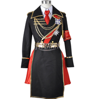 anime K Project Kushina Anna Spoon Military uniform coat shirt pants hat set cosplay costume
