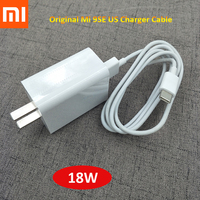 Original Xiaomi 12V1.5A 9se US Charger and Type-C Cable Fast Charging Adapter For MI 9se CC9 Pro Pocophone F1 Redmi K20 Pro K30