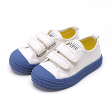Kids Shoes for Boy Canvas Children Autumn White Sneakers 2019 Girls Candy Color Tenis Infanti