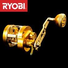 Рыболовная катушка RYOBI VARIUS, медленная Рыболовная катушка для соленой воды, левый/правый руль 10 + 1 шарикоподшипник, максимальное соотношение тяги 15 кг, полностью металлический корпус 7,0: 1