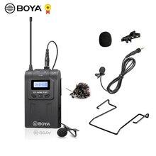 BOYA TX8 Pro Wireless Transmitter Microphone Kit Digital Bodypack 100m UHF System Lavalier Mic for RX8 Pro SP-RX8 Pro Receiver