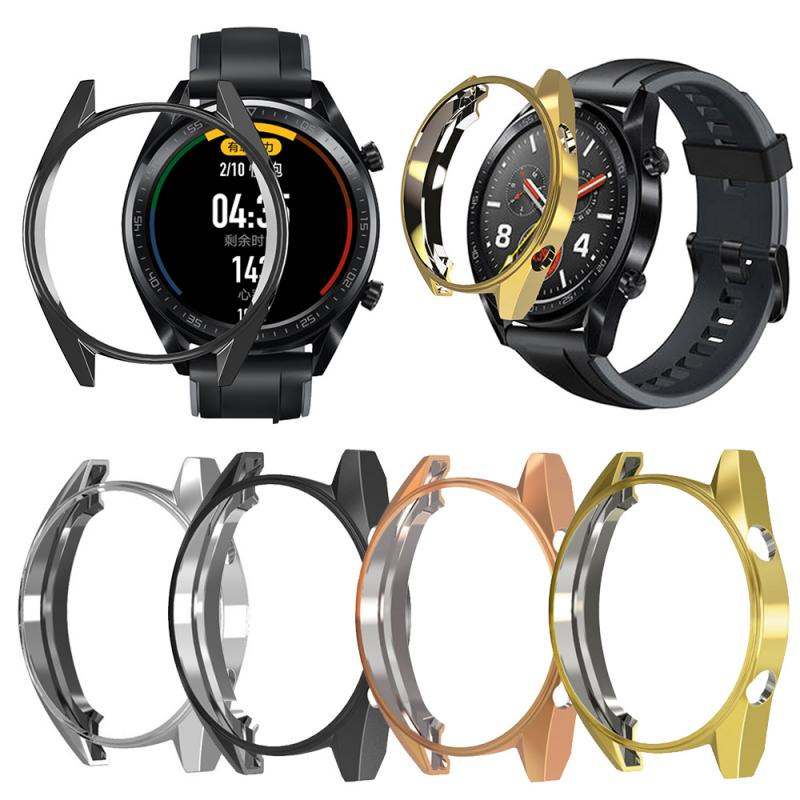 Watch Frame Protective Case Cover For Huawei Watch GT Cover Case Frame Anti-Scratch Protector Shell Smartwatch Accessories