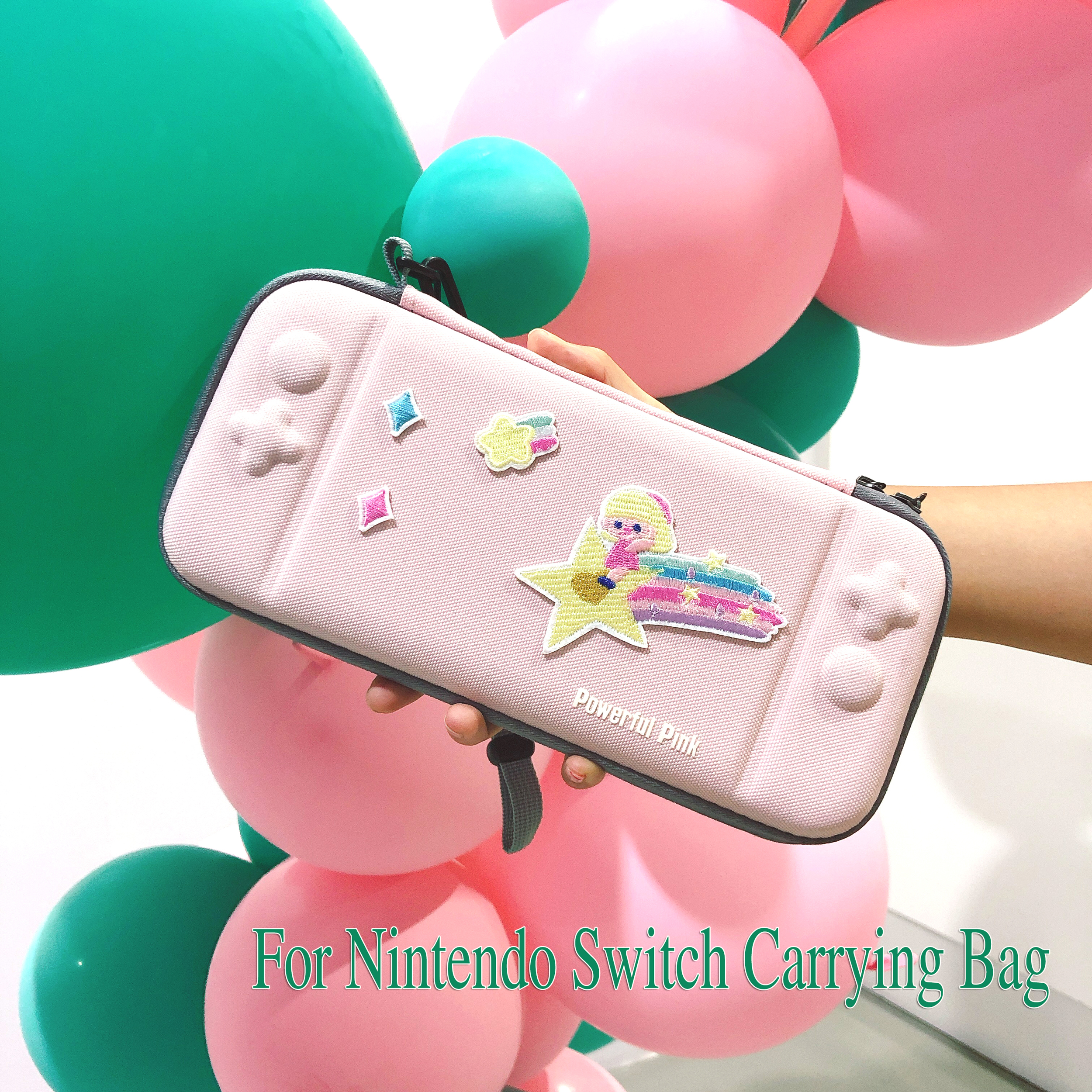 NS Switch Hard Shell Storage Bag for Nintendo Switch Console Durable Carrying Storage Bag for Nintendo NS Switch Bag Accessories