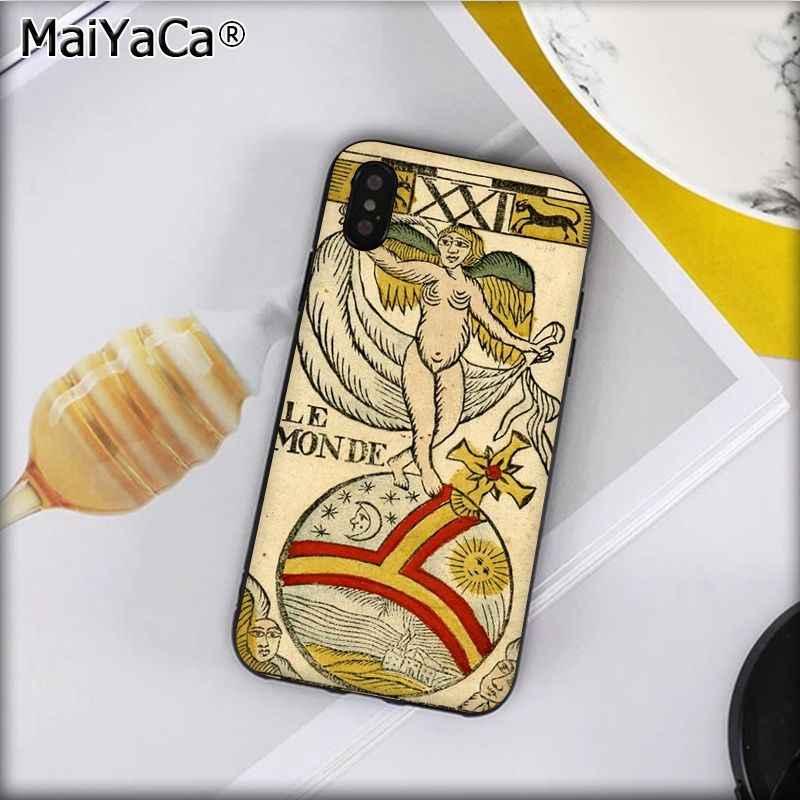 Maiyaca Lê Tarot Egyptien De Dusserre Nghệ Thuật Khách Hàng Chất Lượng Cao Ốp Lưng Điện Thoại Iphone 11 PRO 8 7 66S plus X XS Max 5 5S SE XR
