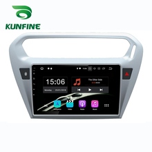 Car Stereo for Peugeot 301 CITROEN Elysee 2013 2018 Octa Core Android 10.0 Car DVD GPS Navigation Player Deckless Radio wifi