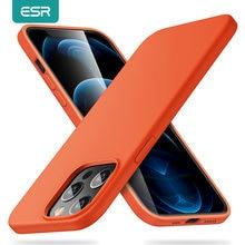 ESR – coque en gomme silicone pour iPhone 12 12 mini 12 Pro 12 Pro Max, nouveau, étui de luxe souple,