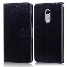 Xiaomi Redmi Note 4 caso cuero Flip caso para Xiaomi Redmi Note 4 mundiales cartera coque para funda redmi note 4X casos de teléfono