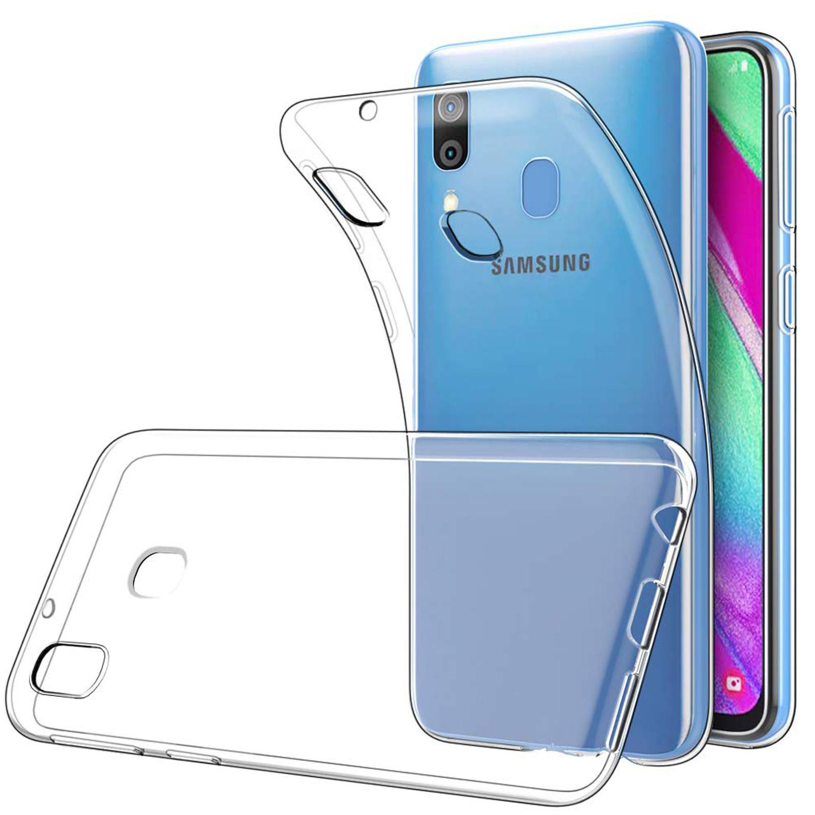 Funda De Gel TPU Carcasa Silicona Para Movil Samsung Galaxy A40 Transparente