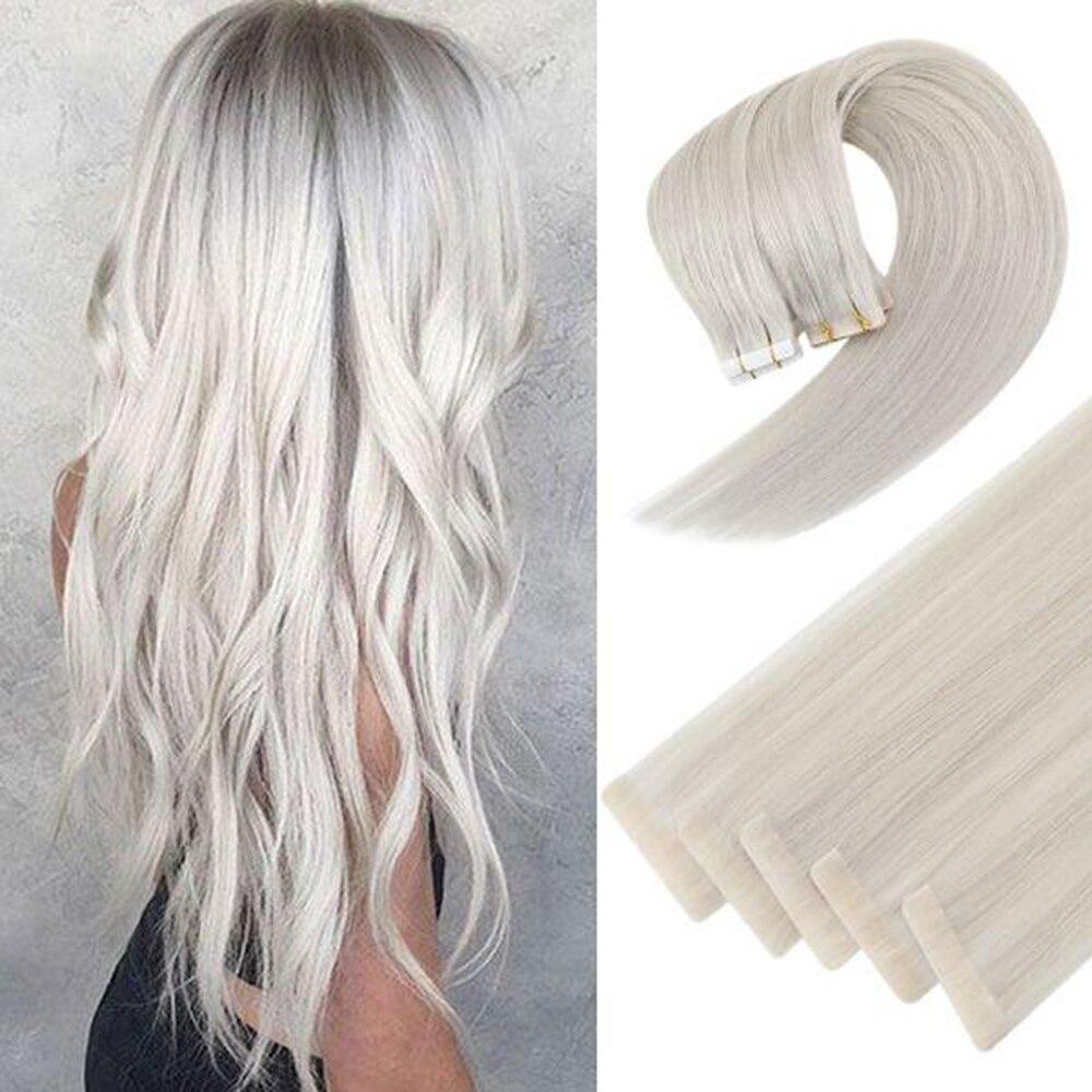 [Последние 12 месяцев] невидимая лента Ugeat для наращивания человеческих волос, бесшовная кожа, уток волос, инъекция натуральных волос, 2,5 г/шт.