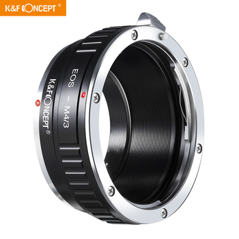 K&F Concept Lens Adapter for Canon for EOS EF mount Lens to M4/3 MFT for Olympus PEN and for Panasonic Lumix Cameras EOS-M4/3 7artisans 25mm f1 8 prime lens to all single series for e mount canon eos m mout micro 4 3 cameras a7 a7ii a7r free shipping