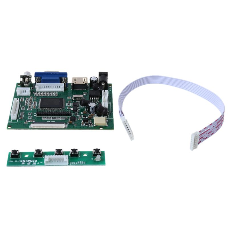 1Set HdMI Lvds Lcd Display Controller Board Module for AT070TN90/92/94 Monitor|Circuits|   - AliExpress
