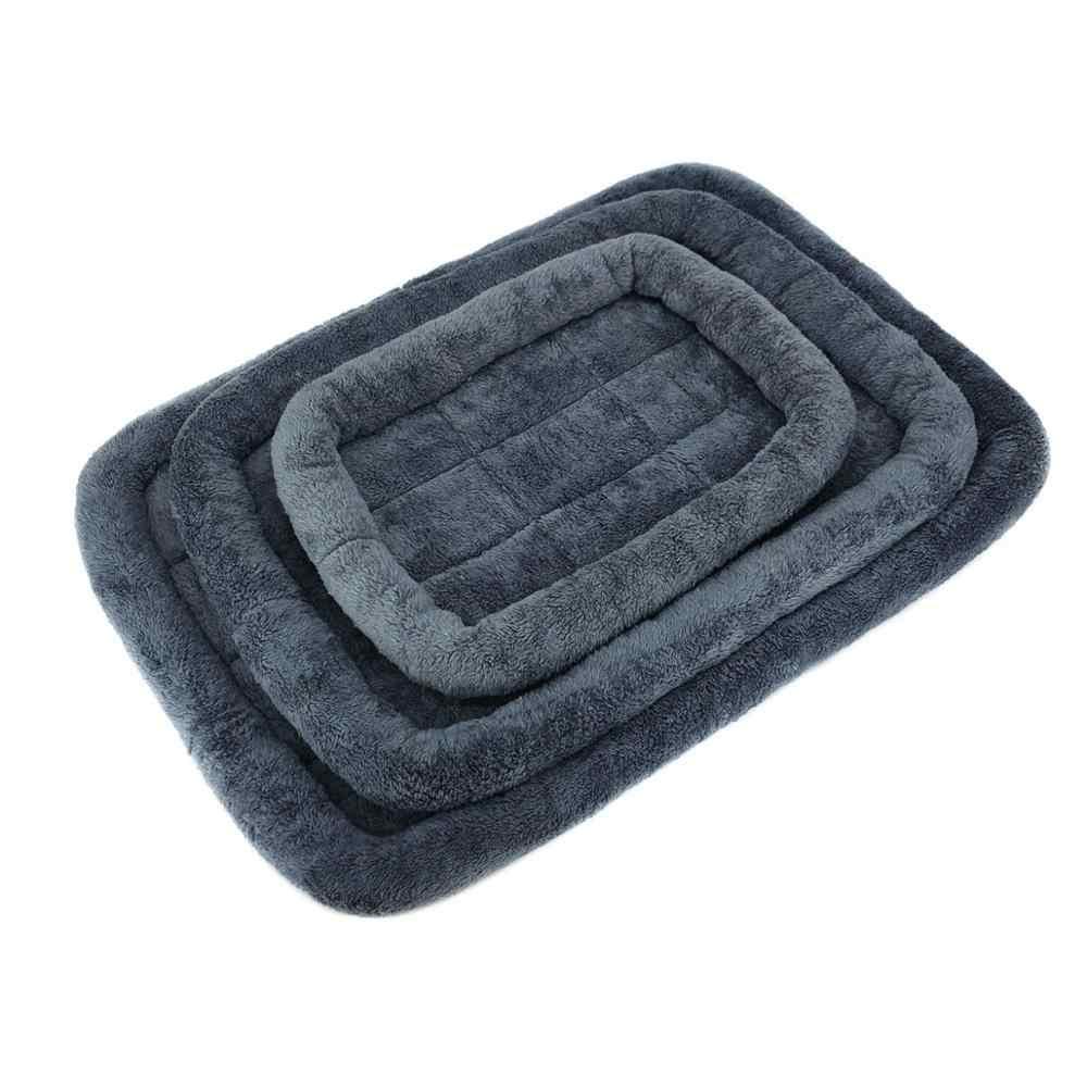 犬強化ベッドマット洗えるクレートマットレスノンスリップペットクッション犬のベッド洗えるペットマットレス
