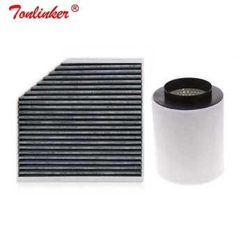 Cabin Filter Air Filter 2 Pcs For Audi A8 4H 2009-2019 2.0T 3.0T 4.0T 4.2T Model Built External Filter Set 4H0819439 4H0129620 car air filter 17801 50060 fit for toyota old crown 2 5 3 0 model 2005 2009 2012 car accessoris external filter