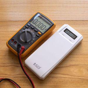 Image 3 - QD188 PD duplo usb qc 3.0 + tipo c pd dc saída 8x18650 baterias diy caixa de banco de potência caso titular carregador rápido (sem bateria)