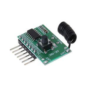 Image 5 - AK 06C bezprzewodowy szeroki zakres napięcia kodowania nadajnik dekodowania odbiornik 4 kanałowy moduł wyjściowy dla 315/433Mhz zdalnego sterowania