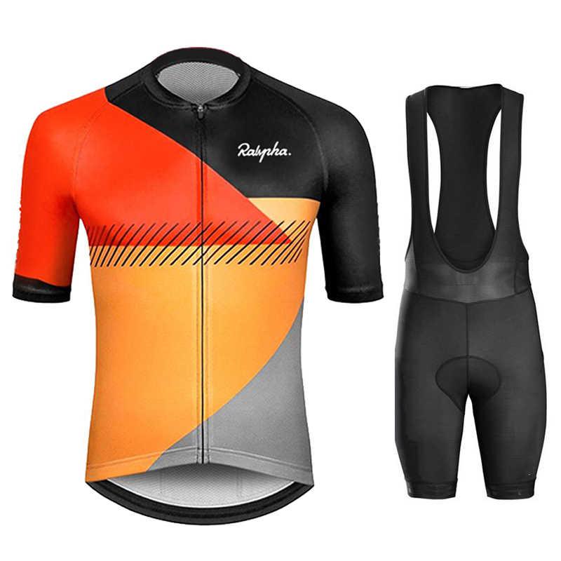 2020 mens cycling Short sleeve jersey cycling jerseys cycling bib shorts set