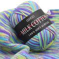 130 м хлопковая вязальная пряжа для вязания шерстяная пряжа теплая крупная пряжа для детей ручная вязка пряжа для одеяла свитера