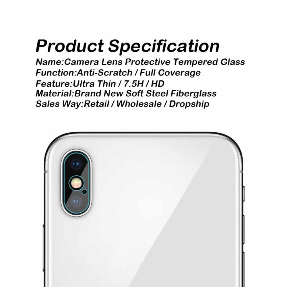 كاميرا عدسة فيلم ل iphone X XS ماكس XR واقي للشاشة 7 زائد 8 زائد 6 زائد طبقة رقيقة واقية على iphone 7 6 6S 8 زائد X غلاس