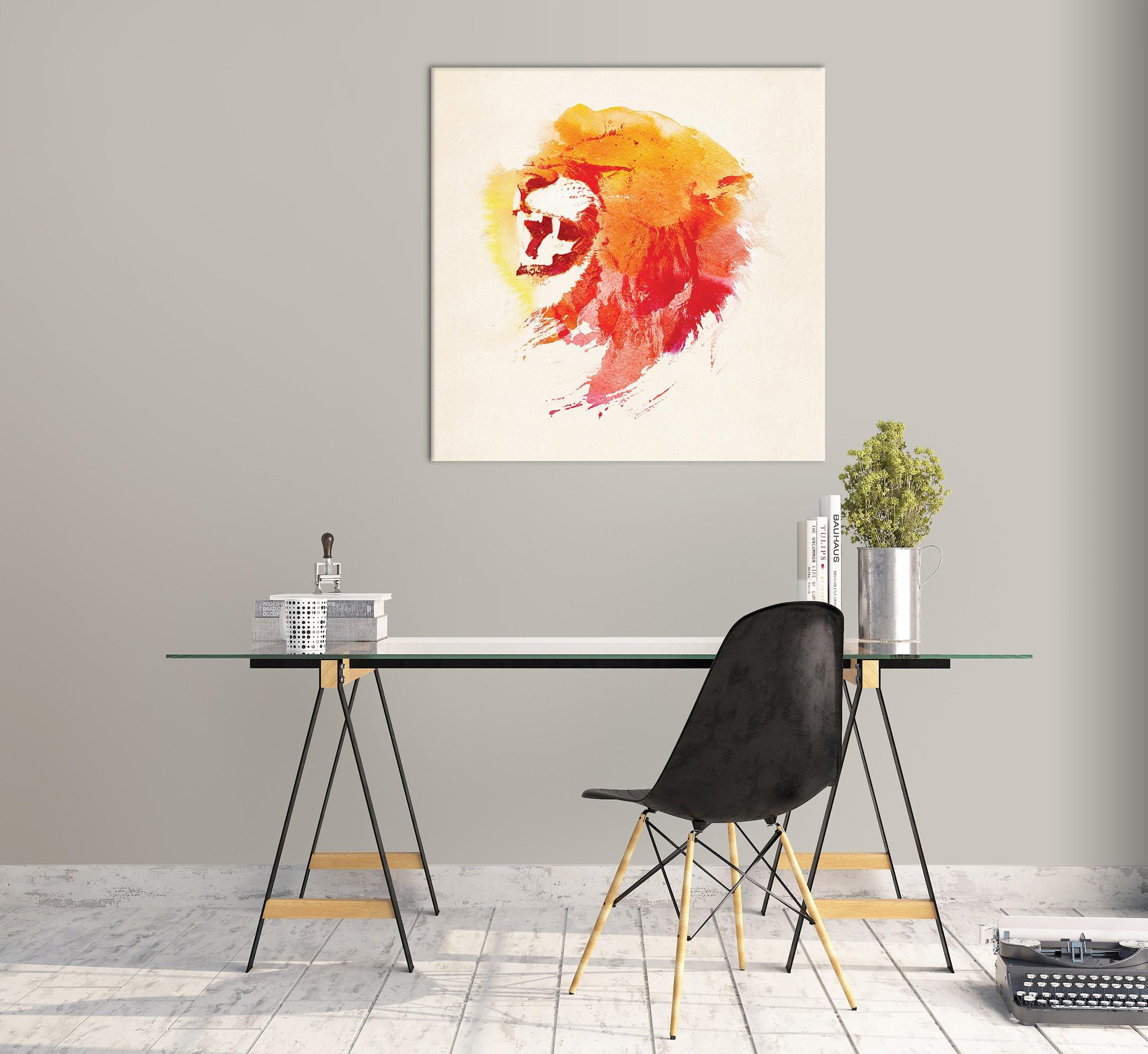 Abstrakte Bär mit Berg Wand Kunst Dekor Leinwand Malerei Küche Drucke Bilder für Haus Wohnzimmer Esszimmer - 3