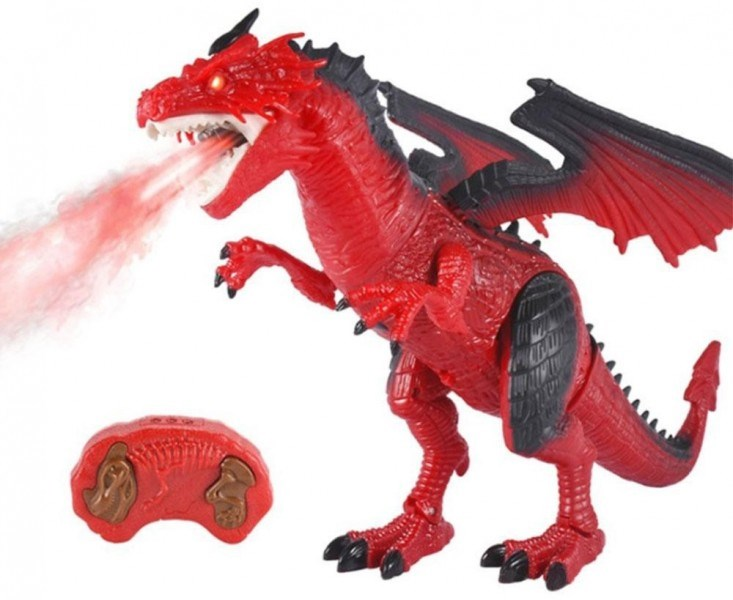 RC Red Dragon (breathing Vapor-RS6159A