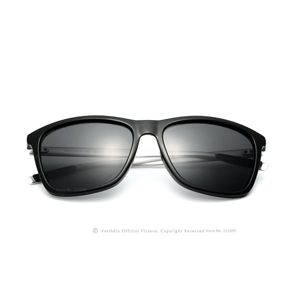 6108 Retrospective Polarized Sunglasses Four Colors Ginseng Color> Black Gray Free Shipping