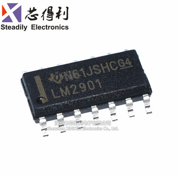 10pcs/lot New Lm2901 Lm2901dr Lm2901dt Sop-14 Four Voltage Comparator image