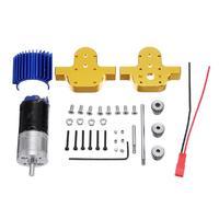 HobbyLane Metal Transfer Gearbox 370 Motor For WPL B 24 B16 B36 C24 1/16 4WD 6WD RC Car Case
