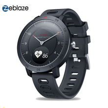 Zeblaze היברידי חכם שעון קצב לב צג לחץ דם מזג אוויר ספורט כושר Tracker הכפול מצבי Smartwatch גברים