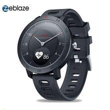 Zeblaze reloj inteligente HYBRID para hombre, dispositivo con control del ritmo cardíaco y de la presión sanguínea y de la actividad, Modos duales deporte