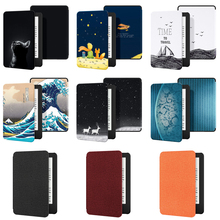 Case for All-New Kindle 2019 Case PU Leather Cover with Auto Sleep Wake for All-New Kindle(10th Gen 2019 Release) cheap GAUGGER Protective Shell Skin For Kindle All-new 6 inch 2019 Version Print 11 6cm For Amazon Kindle Fashion kindle (10th Gen-2019 Released)