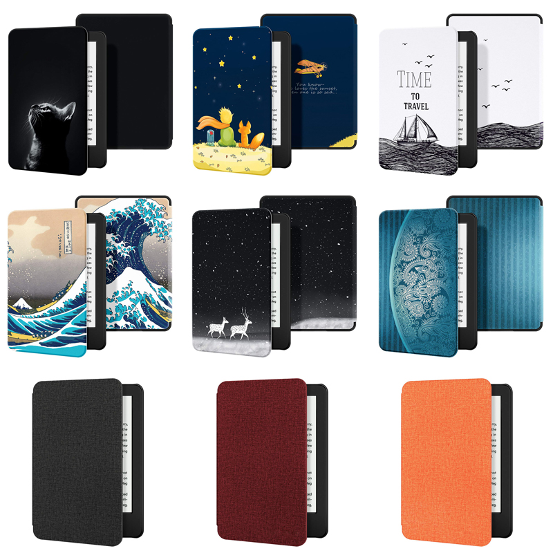 Case For All-New Kindle 2019 Case PU Leather Cover With Auto Sleep/Wake For All-New Kindle(10th Gen, 2019 Release)