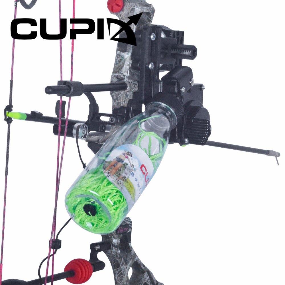 abs pesca corda pote bobina bowfishing com 40m corda ferramenta enfrentar acessorios para arco composto arco