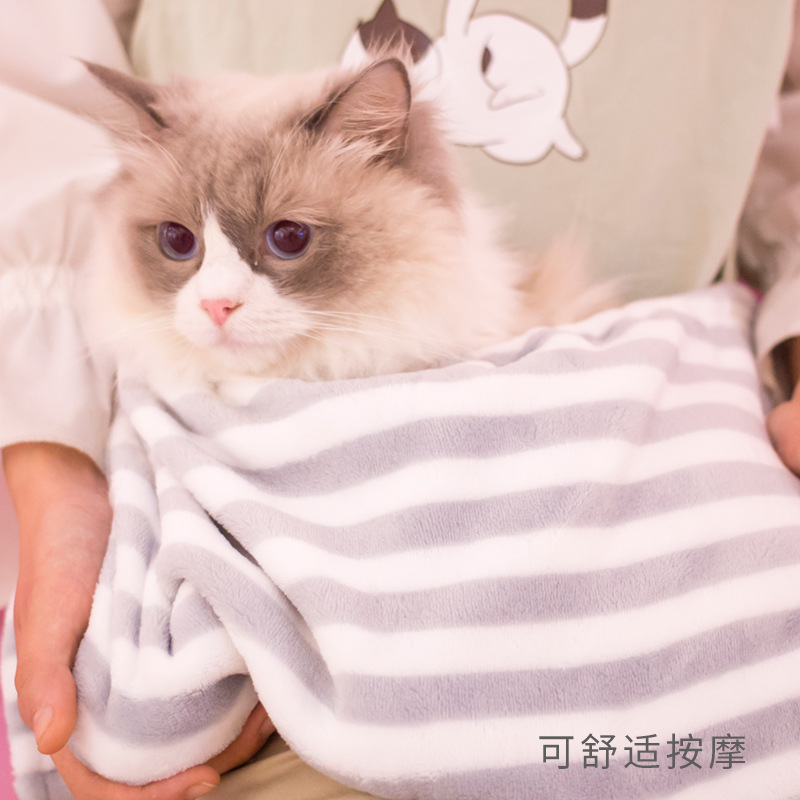 Line And Cat Suit Summer Style Washed Cotton Cool And Refreshing Line And Cat Apron Zi Mao Slave Service Household Hot Selling I