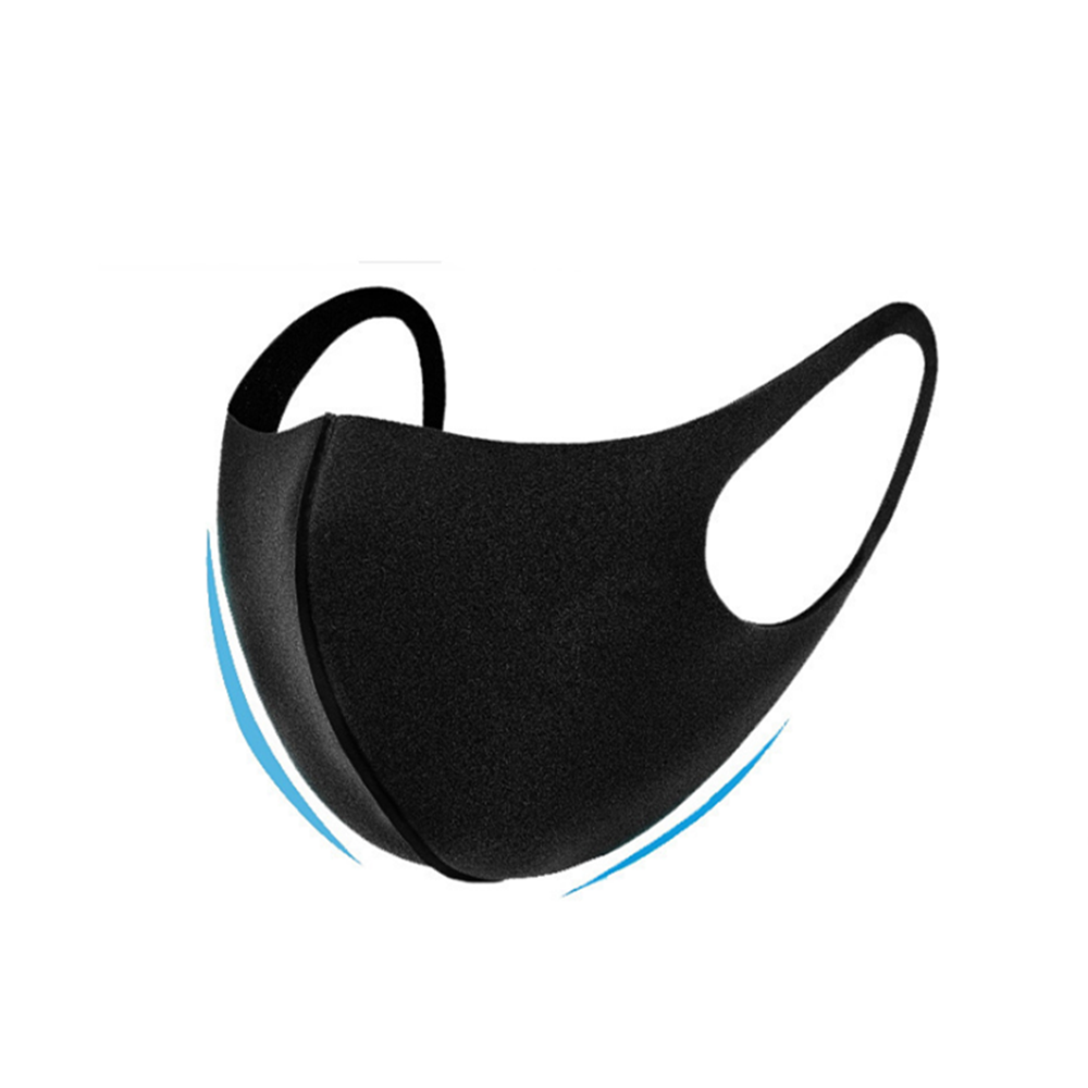 1 Pcs Fashion Washable Dustproof Cold Virus Block Breathable Facial Mask Cycling Anti Dust Warmer Environmental Mouth Face Mask