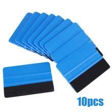 Высококачественный скребок для края из синего войлока 10 шт
