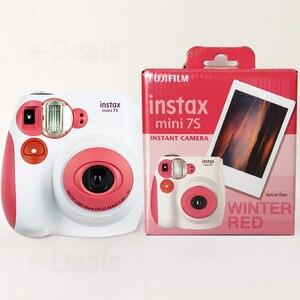 Image 3 - 100% אותנטי Fujifilm Instax מיני 7s מיידי תמונת מצלמה, עבודה עם פוג י Instax מיני סרט, בחירה טובה כמו הווה/מתנה