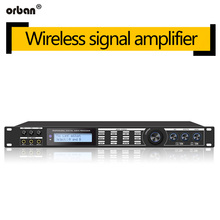 AP800 Professional Preamplifier Anti-howling Processor Reverber Equalizer KTV Audio