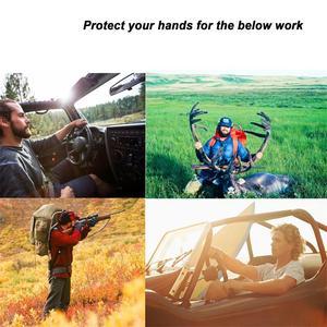 Image 5 - OZERO New Man Work Gloves Welding Working Gloves Deerskin Leather Safety Protective Garden MOTO Wear resisting Gloves 8003