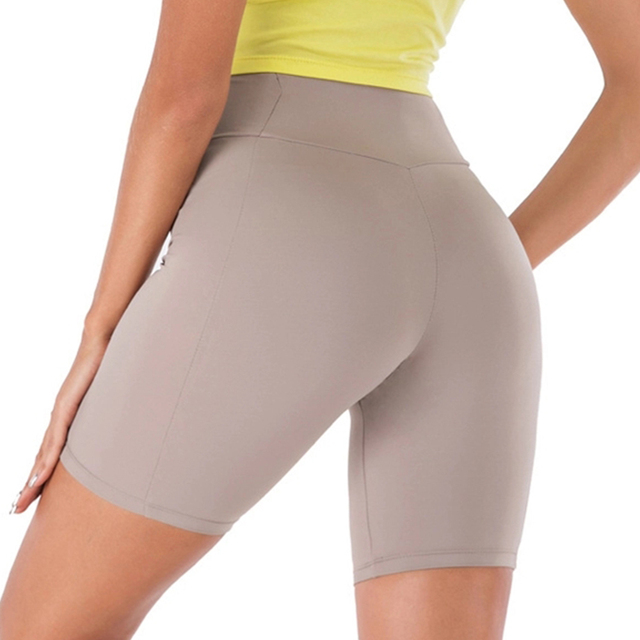 Woman Spandex Yoga Shorts  2