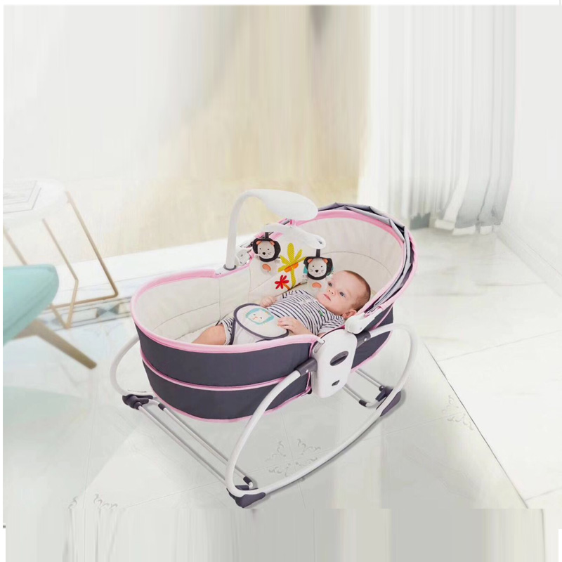 New 5 In 1 Baby Rocking Chair Baby Carrier Crib Bed With Mosquito Net Baby Bed With A Baby Artifact Baby Sleeping Basket