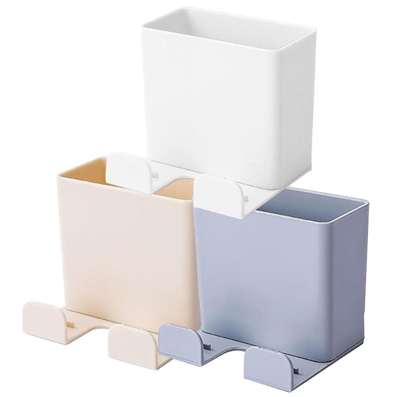 2019hot sell.Wall Mounted Storage Boxes <font><b>Remote</b></font> Control Air Conditioner Stand Holder for Families Hotels Classrooms Offices image
