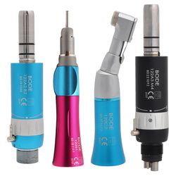 Dental Low Speed Handpiece Color Straight Nose Contra Angle Air Motor Air Turbine BODE 2Hole/4Hole B2/M4 Pink/BLue/Black
