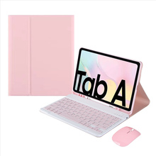 Case for Samsung Galaxy Tab A7 10.4 Wireless Bluetooth Keyboard Teclado for Galaxy Tab A7 T500 T505 Tablet Magnetic Cover Funda